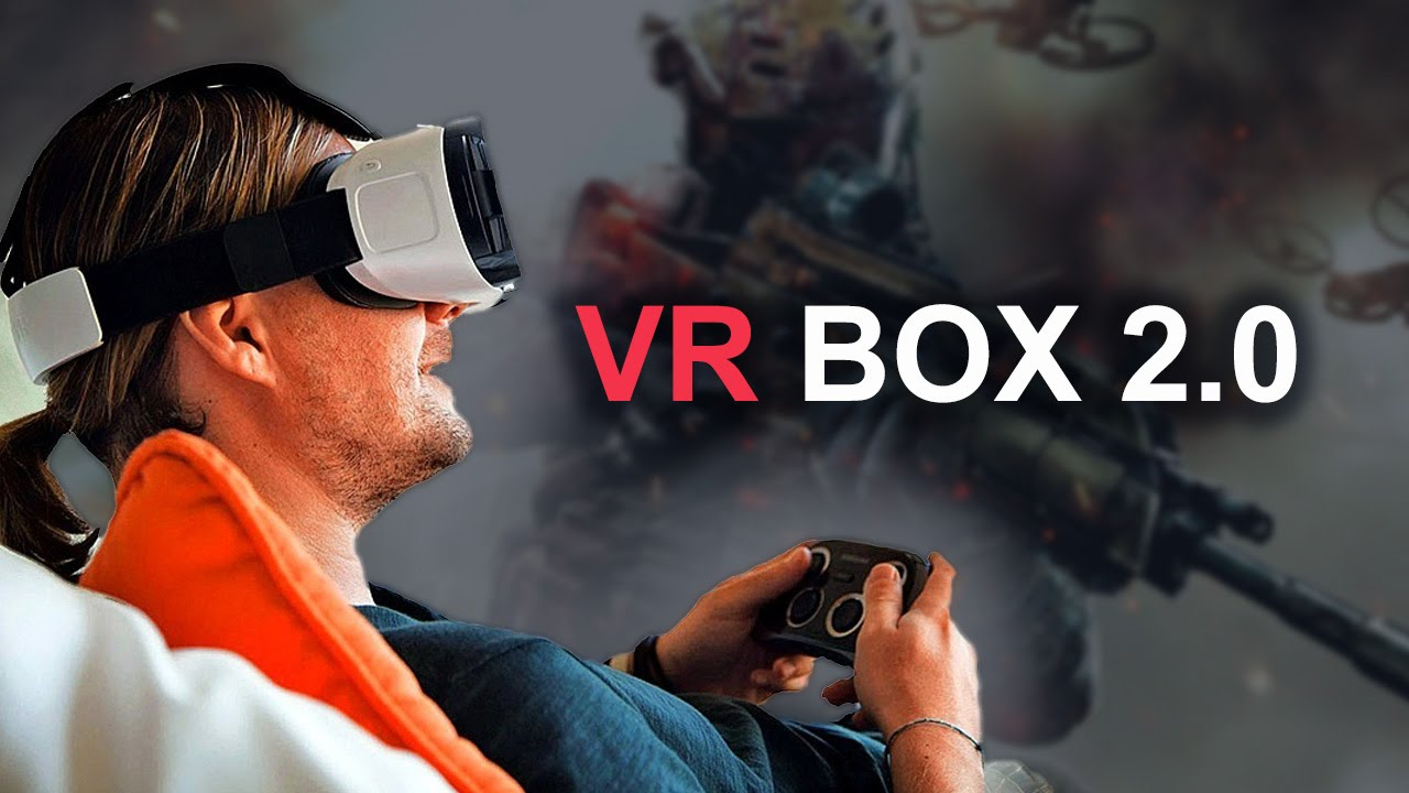 🔴 VR BOX 2 очки виртуальной реальности для смартфона - YouTube 00eab262d07a6