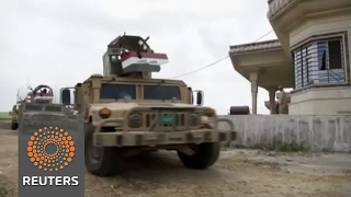Iraqi forces gain foothold in northwest Mosul after new push