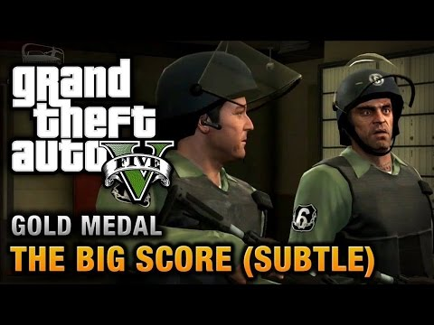 GTA 5 The Big Score - Option A (PS4)