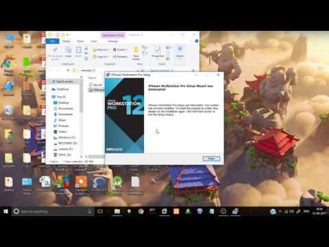 How to download install vmware virtual machine workstation pro 12 (HINDI) full version