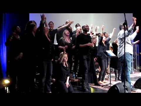 A Prophetic Act with Azusa Now Choir - Jacket Throwing & Shout for the Triumphant Entry of God