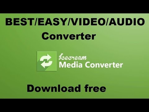 Easy & Best VIDEO/AUDIO CONVERTER Download Free