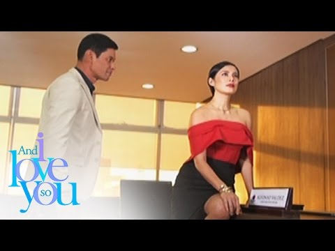 And I Love You So: Katrina visits Alfonso