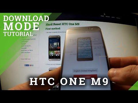 Download Mode HTC One M9 - HardReset info