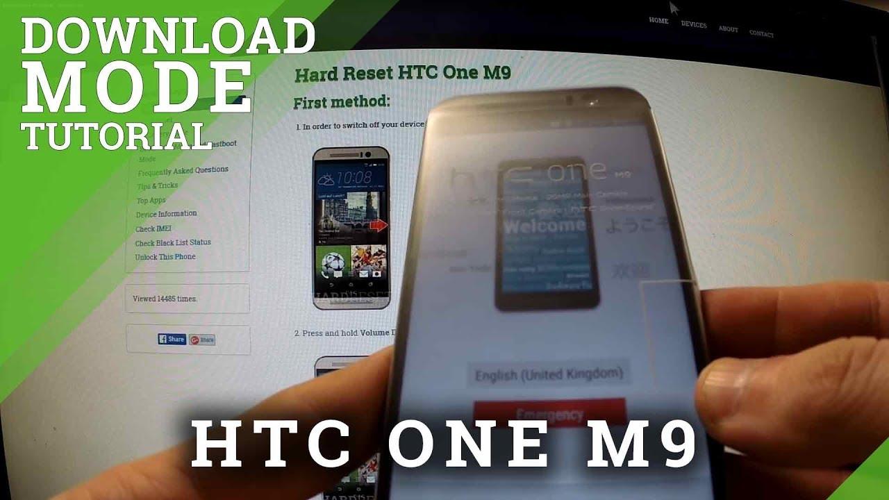 Download Mode HTC Desire 826 - HardReset info