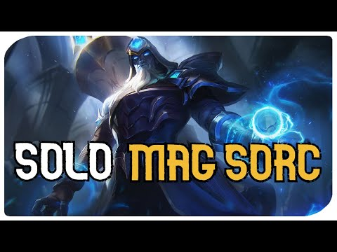 Magicka Sorcerer SOLO PVE Build - ACOLYTE - The BEST SOLO PVE Mag Sorc Build!