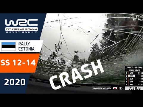 WRC - Rally Estonia 2020: HIGHLIGHTS Stages 12-14