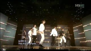 [LIVE HD] SS501 - Only One Day + Love Like This @ SBS Inkigayo [2009.10.25]