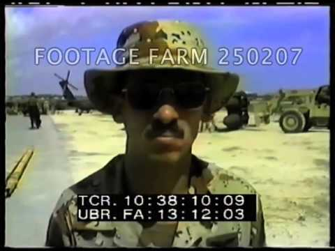 1993 Somalia UNITAF 250207-04   Footage Farm