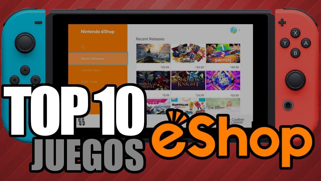 Top 10 Juegos Digitales De Switch Baratos Leyendas Videojuegos