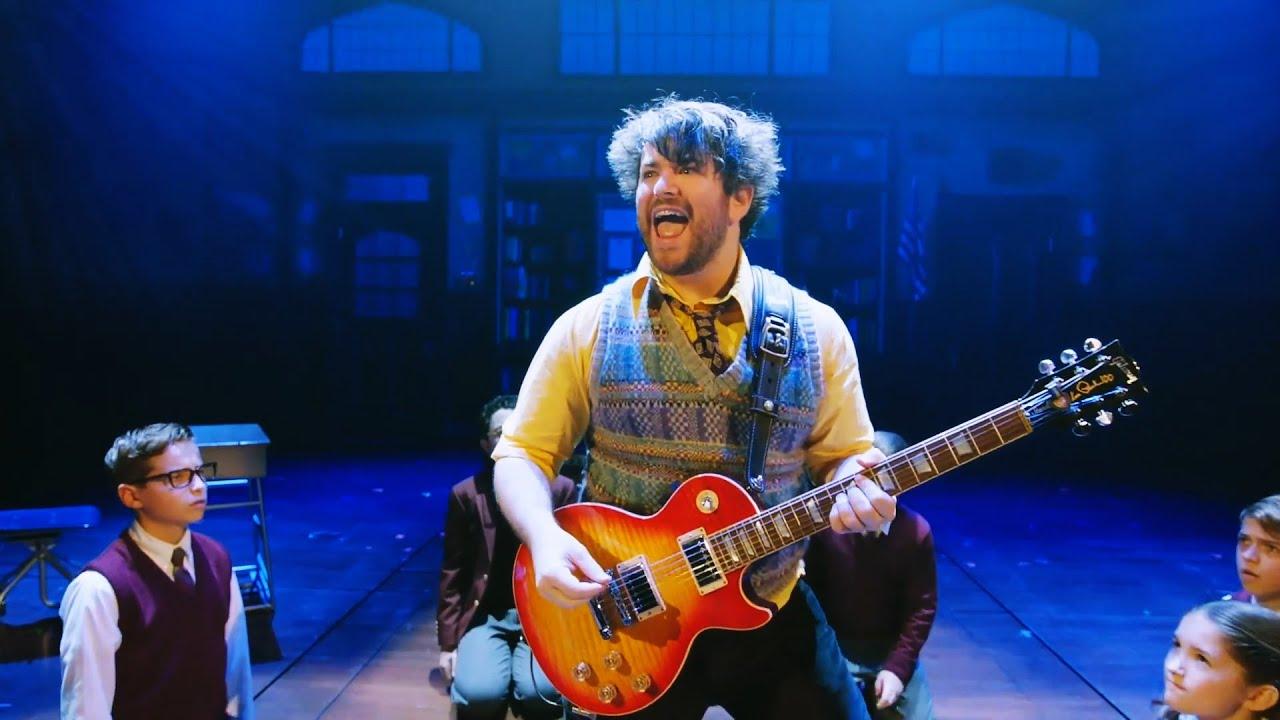 Broadway Show Clips Andrew Lloyd Webbers School Of Rock Starring