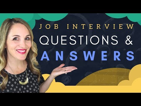 Questions To EXPECT In A Job Interview - 5 MOST Common Interview Questions 2019