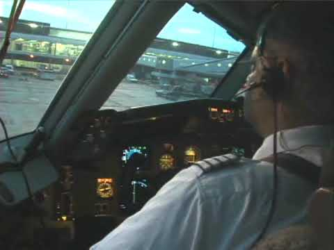 Real cockpit video Amsterdam to Curacao # 6 (Boeing 767-300ER)