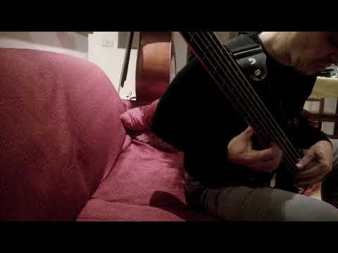 bass on doublebass