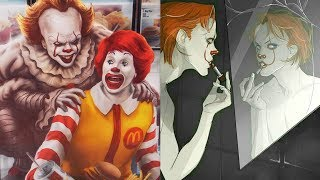 """30+ """"Pennywise The Clown"""" Hilariously Funny Comics To Make You Laugh 4"""