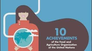 10 Achievements of the Food and Agriculture Organization of the United Nations
