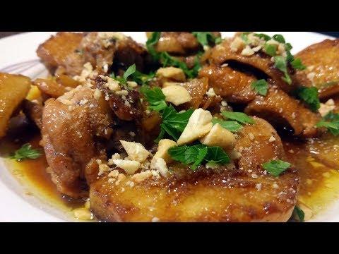 Cómo hacer pollo a la sidra, al estilo de Mariaje