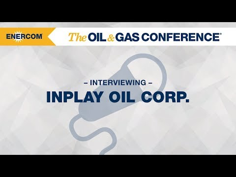InPlay Oil Corp. CEO Doug Bartole at EnerCom's The Oil & Gas Conference® 2017