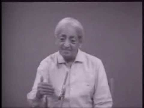 J. Krishnamurti - Saanen 1979 - Public Discussion 2 - Finding out what love is