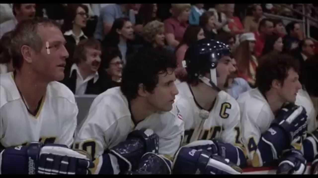 Slap Shot (The Hanson Brothers Debut Scene) - YouTube  Slap Shot (The ...