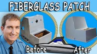 How To Boat Restoration;  Fiberglass Hole Repair