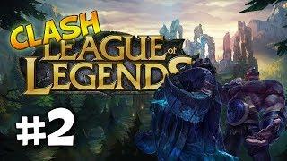 League of Legends Clash | #2 - BETA Day 2