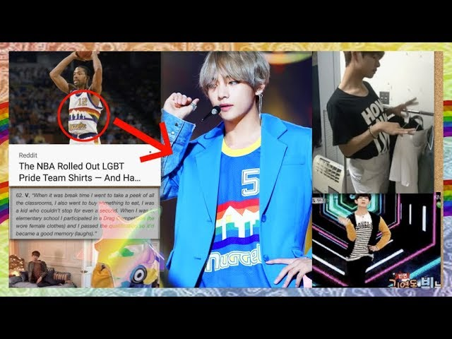 BTS V Gay Moments (and proof) 🌈 🌈 🌟