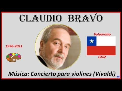 Bravo, Claudio (1936-2011) Valparaíso (Chile) Música: Concierto Para Violines (Vivaldi)