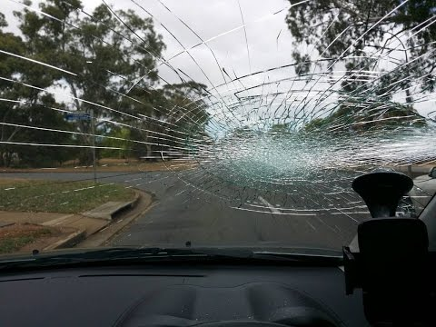 Scooter rider Smashed windscreen in road rage attack - South Australia