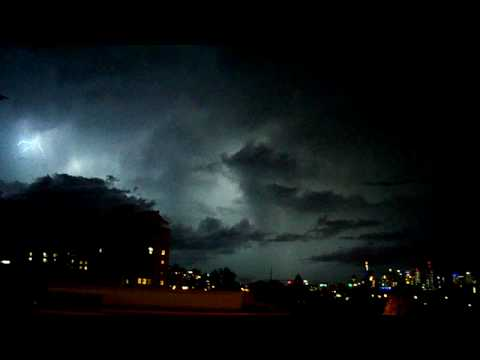 Brisbane Storm Lightning from Regatta 20-11-2008