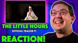 REACTION! The Little Hours Trailer #1 - Aubrey Plaza Movie 2017