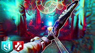 DER EISENDRACHE GAMEPLAY: BOW, ROCKET LAUNCH, PACK A PUNCH, PYRAMID STORYLINE INFO (CoD BO3 Zombies)