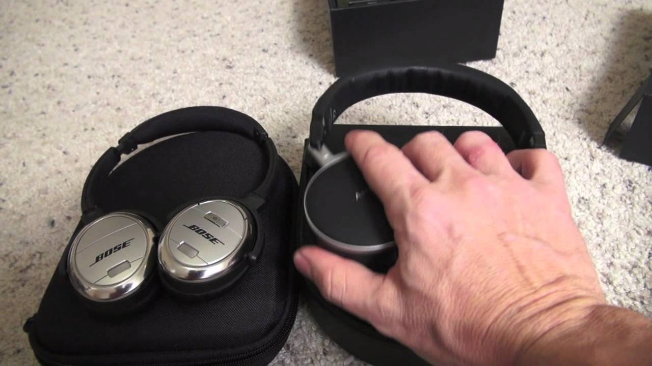 fffe0765a53 Noise Canceling Headphones: AKG K495 NC Review and vs Bose QC3 - YouTube