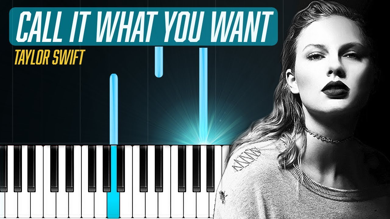 Ours piano tutorial by taylor swift youtube.