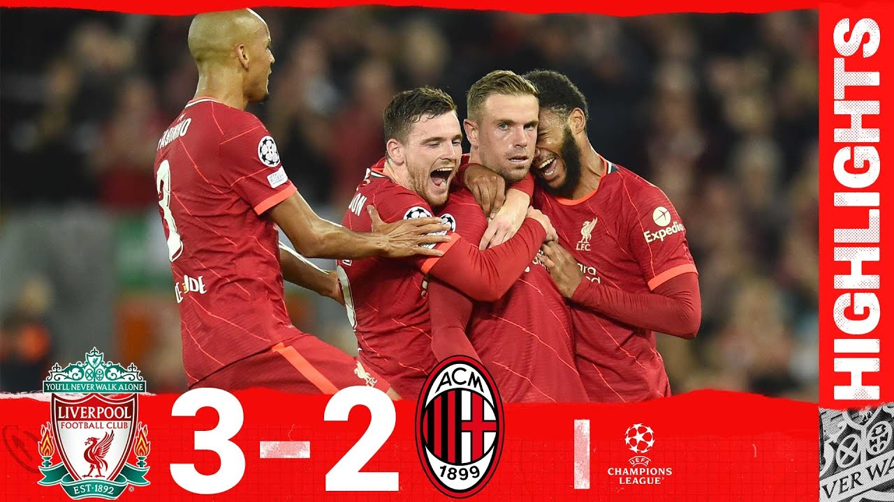 Download Highlights: Liverpool 3-2 AC Milan   Henderson completes stunning comeback