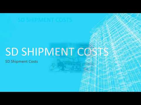 SD Shipment Costs