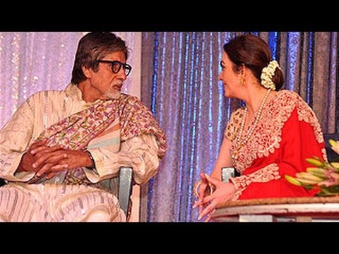 Amitabh Bachchan At The Launch Of Lata Mangeshkar's Music Label