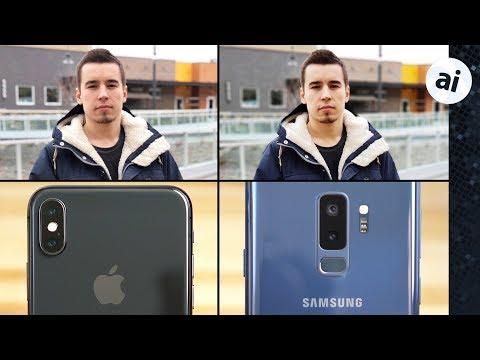 iPhone X vs S9 Plus Camera Comparison - Photo Quality