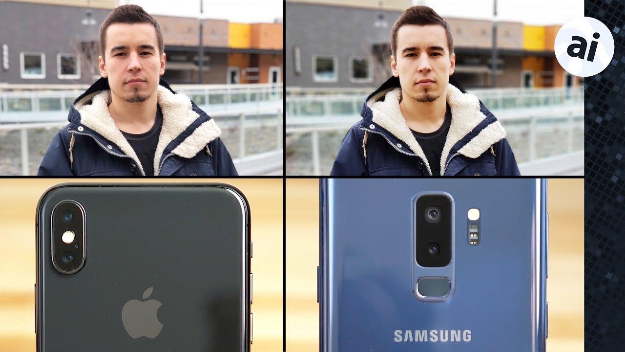 Samsung s9 camera vs iphone 8