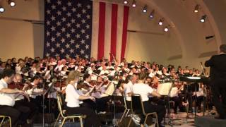 The Orlando Philharmonic Orchestra Performs the National Anthem