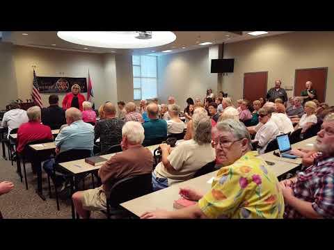 Sen. Claire McCaskill Town Hall Harrisonville 8/18/17