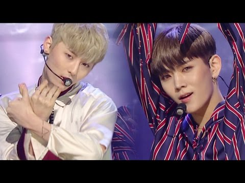 《POWERFUL》 NU'EST (뉴이스트) - Love paint (Every Afternoon) @인기가요 Inkigayo 20160925