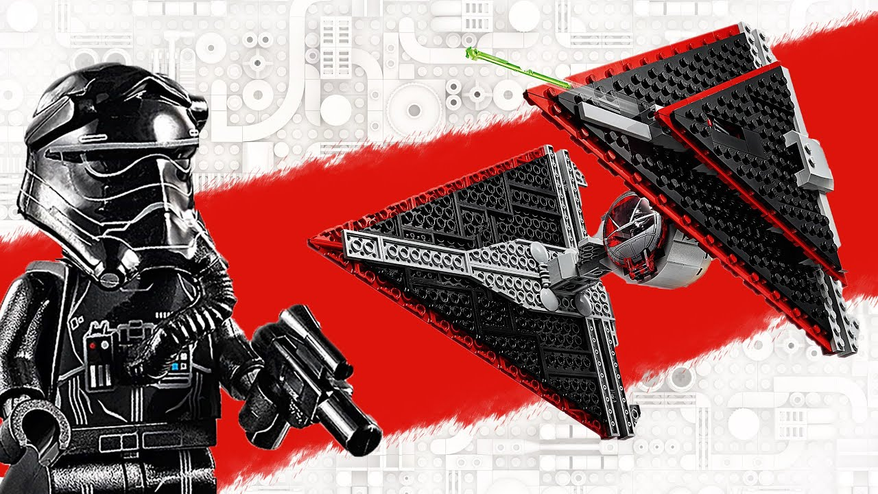 LEGO Sith TIE Fighter Review/Speed Build/New Parts 75272