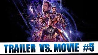 Trailer vs. Movie: Part 5 | Avengers: Endgame