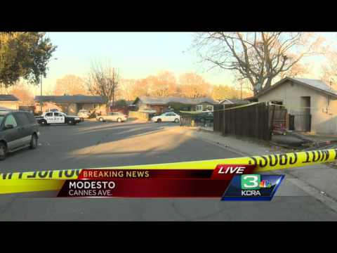 Modesto standoff ends with apparent suicide - YouTube