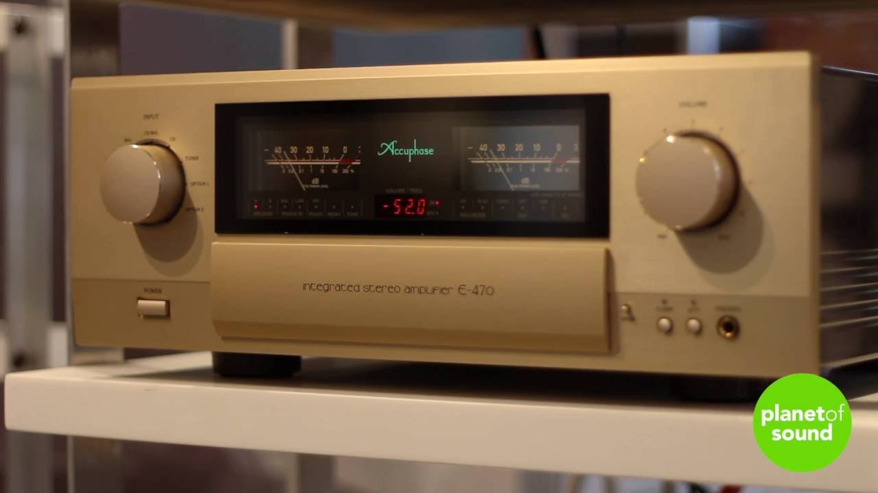 Accuphase E-470 Integrated Amplifier (predecessor to E-480) 180 w/ch  Handmade Japanese Audiophile