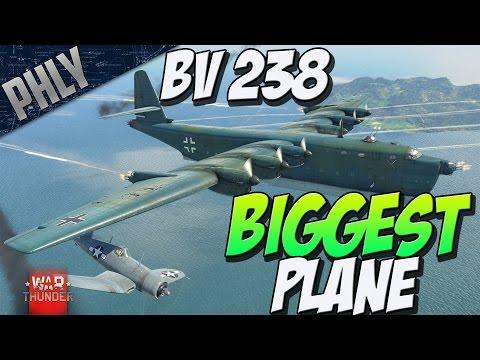 WAR THUNDERS BIGGEST PLANE - BV 238 - (War Thunder 1.63 Gameplay)