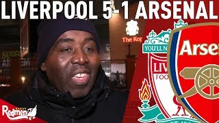 'Arsenal's Defending Was Shocking!' | Liverpool v Arsenal 5-1 | Oppo Reaction w/ AFTV's Robbie