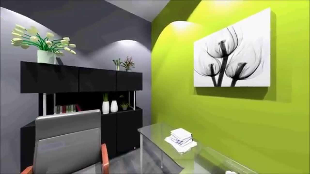 3d office design. Office Design 3D Walkthrough 3d