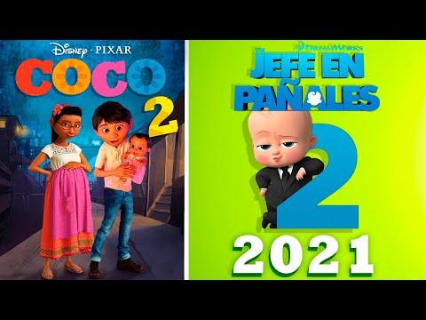 5 Próximos Estrenos de Películas Animadas 2021